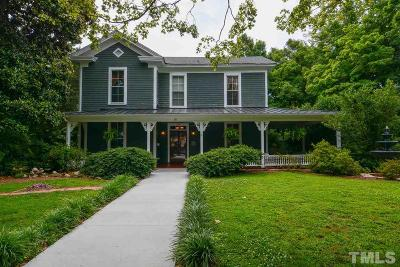 Wake Forest Single Family Home For Sale: 228 N Main Street