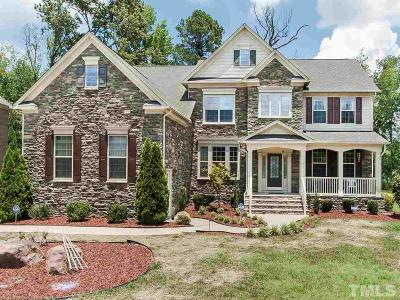 Cary Single Family Home For Sale: 54 Winding Pine Trail