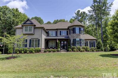 Wake Forest Single Family Home For Sale: 7605 Summer Pines Way