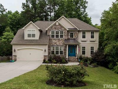 Wake County Single Family Home For Sale: 3605 Trawden Drive