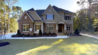 Wake Forest Single Family Home For Sale: 1900 Haley Pines Way