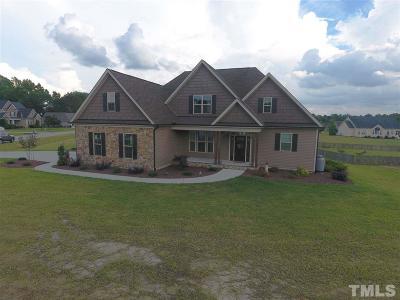Harnett County Single Family Home For Sale: 50 Setter Court
