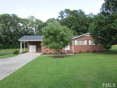 Single Family Home Pending: 4340 Zebulon Road