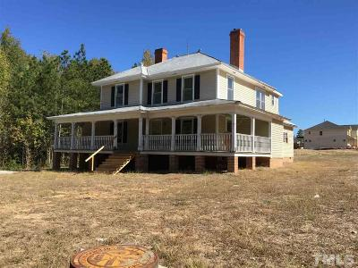 Cary Single Family Home Contingent: 5104 Sears Farm Road