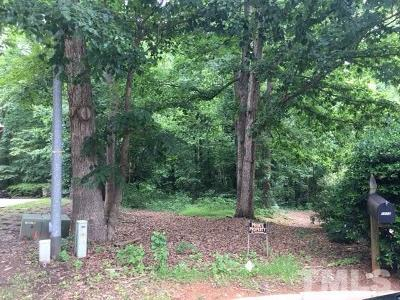 Wake County Residential Lots & Land Contingent: 1116 Hymettus Court