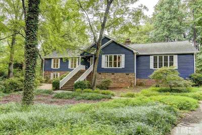 Raleigh Single Family Home For Sale: 7212 Catamount Court North