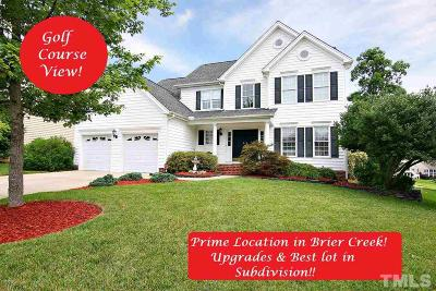 Brier Creek Single Family Home For Sale: 9132 Meadow Mist Court