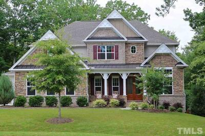 Pittsboro Single Family Home For Sale: 99 Mossy Creek Court