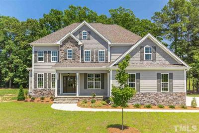 Holly Springs Single Family Home For Sale: 5804 Cleome Court