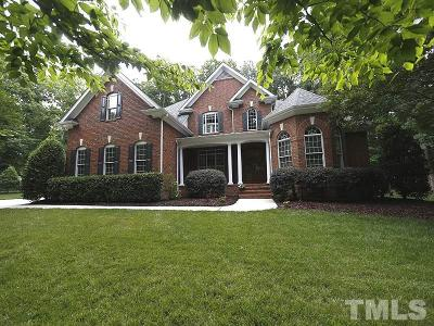 Durham Single Family Home For Sale: 2103 Vintage Hill Drive