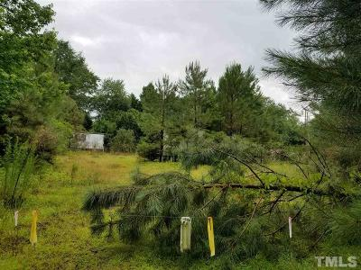 Johnston County Residential Lots & Land For Sale: 1560 Hockaday Road