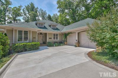 Chapel Hill Single Family Home Pending: 11482 Club Drive