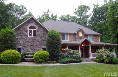Durham Single Family Home For Sale: 6005 Deerwood Lane