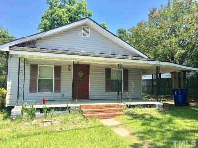 Dunn NC Single Family Home For Sale: $65,000