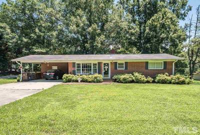 Mebane Single Family Home For Sale: 2643 Bason Road