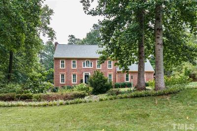 Raleigh Single Family Home Contingent: 812 Misty Isle Place