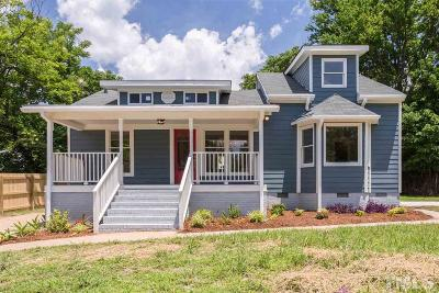 Raleigh Single Family Home For Sale: 201 Bladen Street