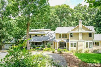 Chapel Hill Single Family Home For Sale: 413 Stony Hill Road