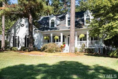 Cary Single Family Home For Sale: 202 W Jules Verne Way