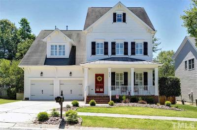 Holly Springs Single Family Home Contingent: 501 Streamwood Drive