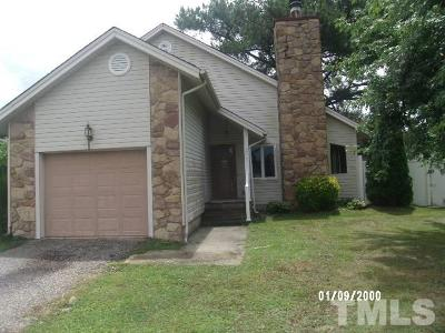 Dunn NC Single Family Home For Sale: $113,000