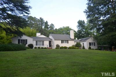 Chapel Hill Single Family Home Pending: 120 Meadowbrook Drive