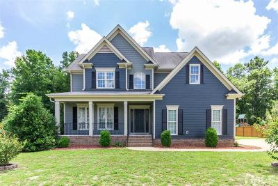 Holly Springs Single Family Home Contingent: 6009 Hunley Drive