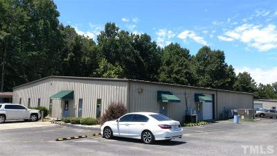 Chatham County Commercial For Sale: 909 Alston Bridge Road