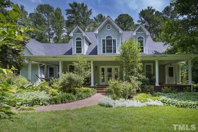 Chapel Hill Single Family Home For Sale: 1447 Preston Spring Lane
