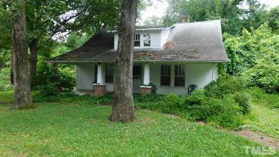 Carrboro Single Family Home Pending: 401 E Poplar Avenue