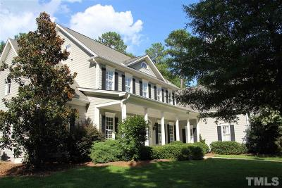 Apex Single Family Home For Sale: 339 Heritage Drive