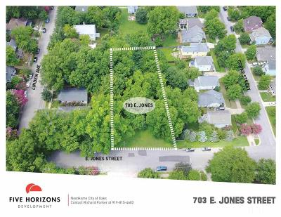 Wake County Residential Lots & Land For Sale: 703 E Jones Street