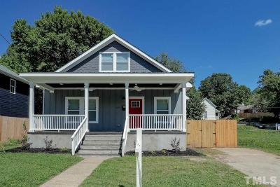 Durham Single Family Home For Sale: 615 Canal Street