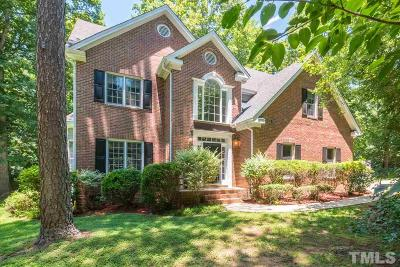 Apex Single Family Home Contingent: 3836 Perney Court