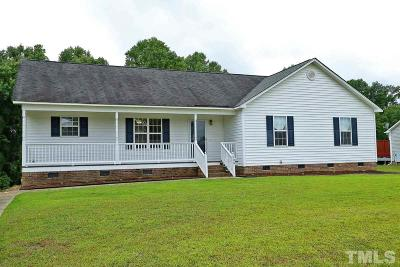Willow Spring(S) Single Family Home For Sale: 128 Saleen Drive
