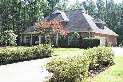 Durham Single Family Home Contingent: 5801 St Thomas Drive