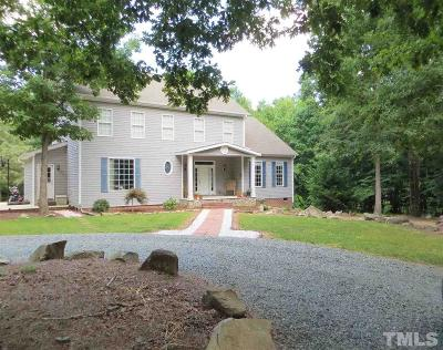 Chatham County Single Family Home For Sale: 137 Henry Court
