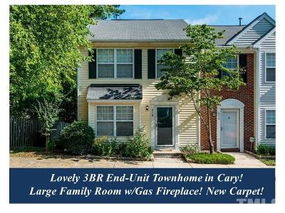 Cary Townhouse Pending: 216 Climbing Ivy Court