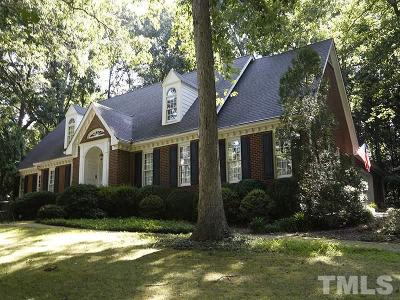 Raleigh Single Family Home For Sale: 10608 Leslie Drive