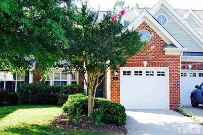 Brier Creek Townhouse For Sale: 11217 Presidio Drive