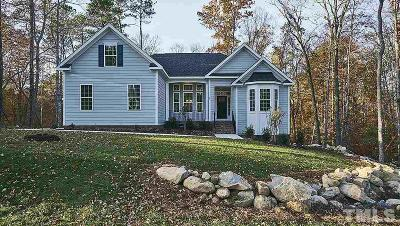 Chapel Hill Single Family Home For Sale: 69 Triton Walk Way