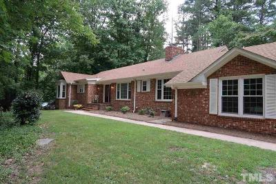 Durham Single Family Home For Sale: 3011 Harriman Road