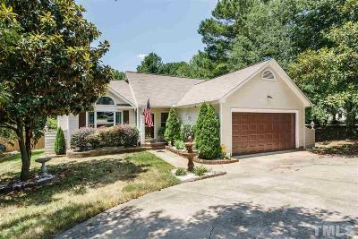 Cary Single Family Home Contingent: 100 Bright Angel Drive