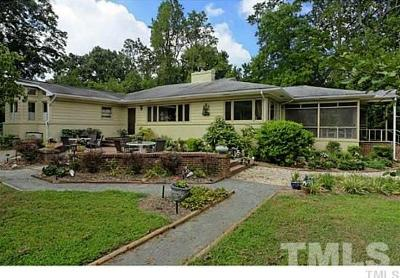 Chapel Hill Single Family Home For Sale: 219A Old Fayetteville Road