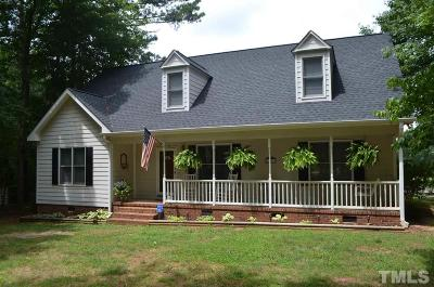 Franklinton NC Single Family Home Contingent: $229,900