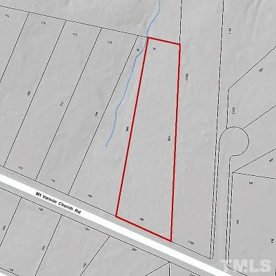 Wake County Residential Lots & Land For Sale: 3036 Mt Vernon Church Road
