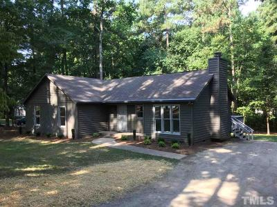 Raleigh NC Single Family Home For Sale: $209,000
