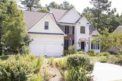 Durham Single Family Home For Sale: 5 Scarlet Oak Drive