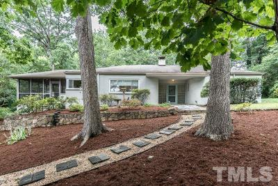 Orange County Single Family Home For Sale: 714 Greenwood Road
