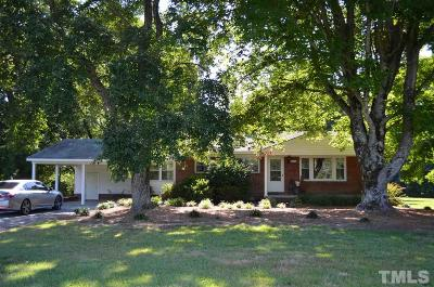 Siler City Single Family Home For Sale: 2593 White Smith Road